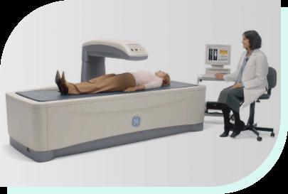 изследване за остеопороза и остеоартроза - снимка